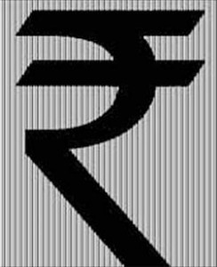 Image of indian rupee symbol