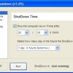Use Mortens To Shutdown Your Computer Automatically at Desired Date And Time