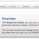Synchronize Your Passwords Online Using RoboForm Password Manager