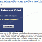 Implement New Ways To Increase Your Adsense Revenue