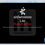 Jailbreak Iphone 3GS, 3G, 2G Using Snowbreeze