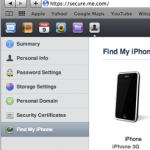 Use Apple's MobileMe Service To Trace Your Lost/Stolen iPhone