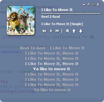 played lyrics