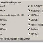 Use Different Media Players To Play Lyrics And Song Simultaneously