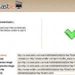 Directly Record Screencasts Via Screencastle