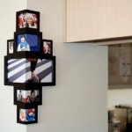 Use Wrap-Around-The-Corner Photo Frame To Display Memorable Moments
