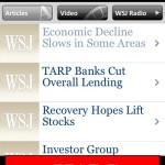 Read Wall Street Journal And Online Contents In Your Apple Iphone Free