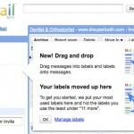 Gmail Introduced The Drag and Drop Feature For Labeling Toolkit