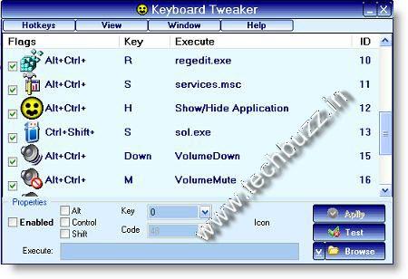 Keyboard-Tweaker Tool Alternative To Multimedia Keyboards