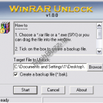 Download Free Winrar Unlock Utility To Unlock The Locked RAR Archive