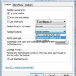 Simple Tips To Restore The Vista/ XP Style Taskbar In Windows 7