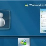 Minimize The Windows Live Messenger/MSN Messenger Icon To The System Tray In Windows 7