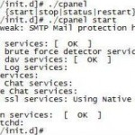 Start/ Restart cPanel's cpsrvd Service Via SSH