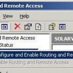 Use Remote Access Console Or From The DOS Prompt To Add New Route