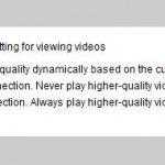 Setting YouTube To Play High-Quality Videos By Default