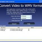 Simply Convert Video File To Microsoft Windows Media Video (WMV) Format Using ConvertToWMV