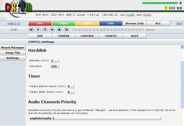 Set Your Audio Language On DreamBox Satellite Decoder