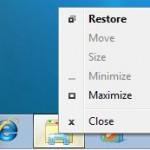 Shift-Right Click Option Standard Menu on Windows 7 Taskbar