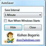 Automatically Save All the Files with AutoSaver