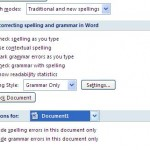 How Can I Disable Microsoft Word Spell And Grammar Check