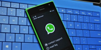 Whatsapp hangs on Windows Phone