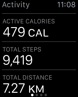 Check Step Count on Apple Watch