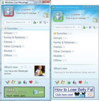 windows live chat rooms use automatic switcher in windows live msn messenger to 17433