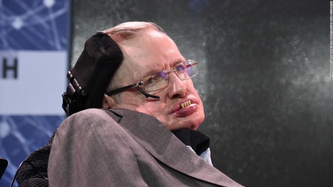 Stephen Hawking Dead Picture